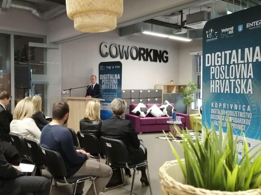 "Through the program of the conference ""Digital Business Croatia"", the goal was to show concrete steps and guidelines for accelerated economic development."
